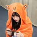 150 cm Himouto! Manto Anime Umaru Umaru-chan chan Doma Umaru Cap Hoodies Traje Cosplay Cloaks Flanelas Cobertor Macio
