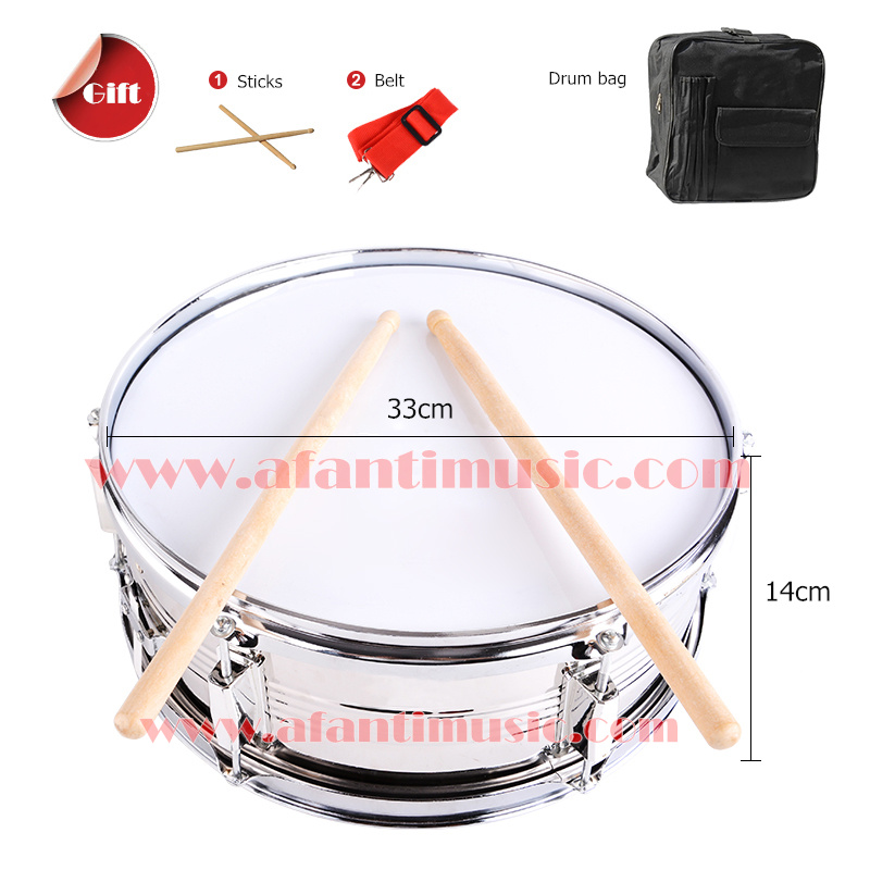13 inch Afanti Music Snare Drum (ASD-044) 13 inch double tone afanti music snare drum sna 109 13