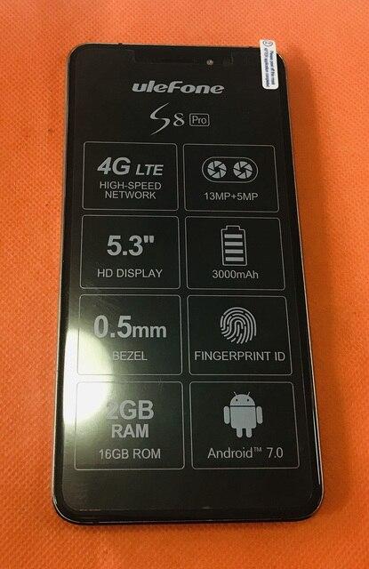 Gebruikt Originele Lcd scherm + Digitizer Touch Screen + Frame Voor Ulefone S8 Pro MTK6737 Quad Core 5.3 Inch Hd gratis Verzending