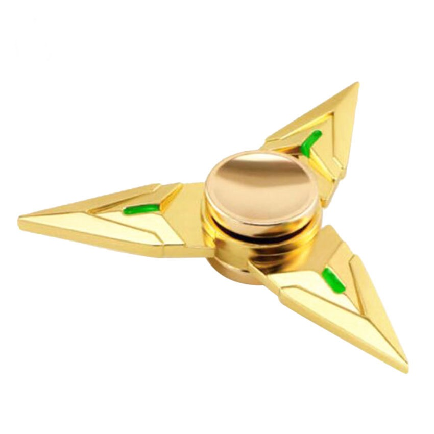 TOFOCO Hand Spinner Fidget Stress Cube Brass Amine