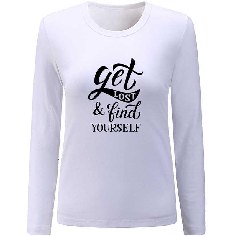Estado de espírito Da Floresta da floresta de Imaginação Se Perder e Encontrar a Si Mesmo Design Das Senhoras Das Mulheres camisa Impressão de T T Gráfico tshirts