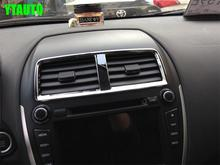 Auto inerior accessories, air vent intake trim sticker for  asx 2013 2015,5pcs,Type A  auto accessories