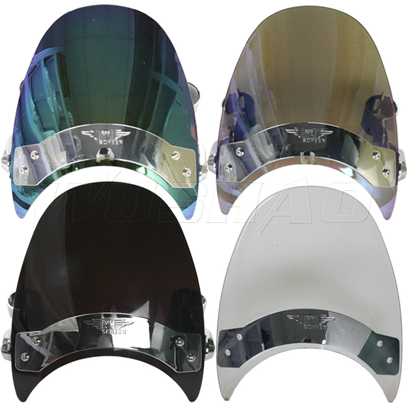 Flavor In Modest Windshield Windscreen For 2004-2005 Harley Dyna Super Wide Glide Fxdi Fxdwgi Sport Fxdxi Custom Fxdc Fxdci Low Rider Fxdli Fragrant