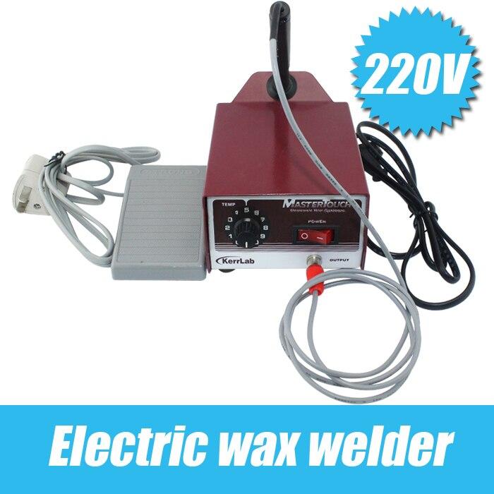 Offre spéciale 220 V soudeuse à cire électrique, outils de bijouterie de marque et équipement machine de soudage de bijoux machine de fabrication de bijoux orfèvre