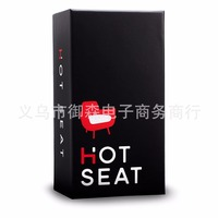 Hot Seat Adult Party Game Card board DRUNK drinking game card