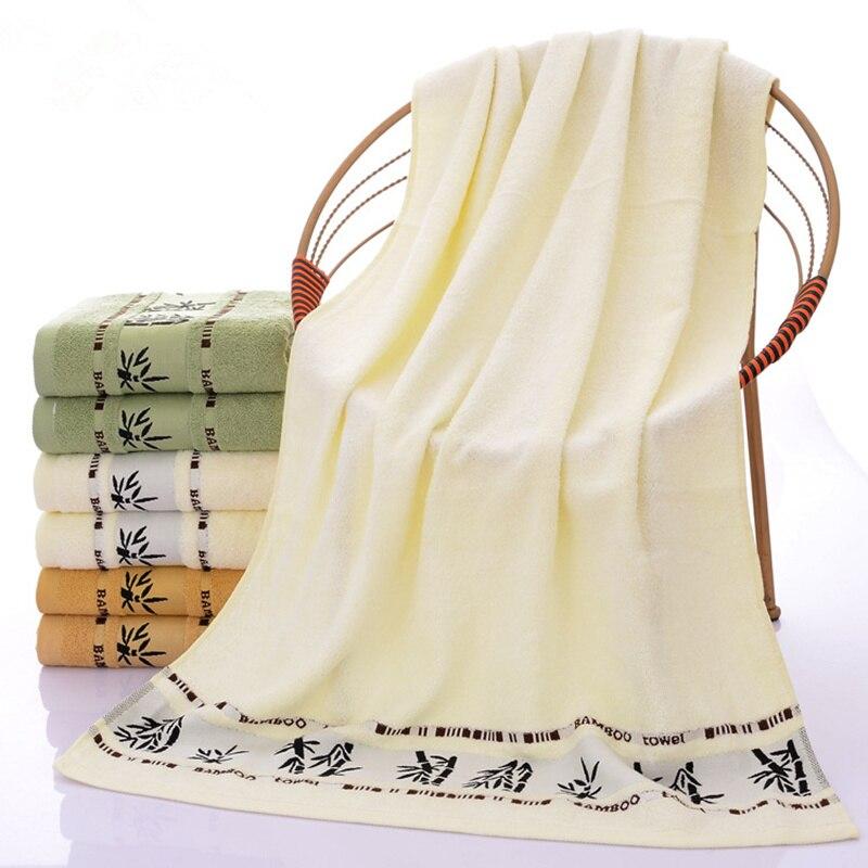 De alta Calidad de Fibra de Bambú Suave Toalla de Baño Absorbente Toalla de Play