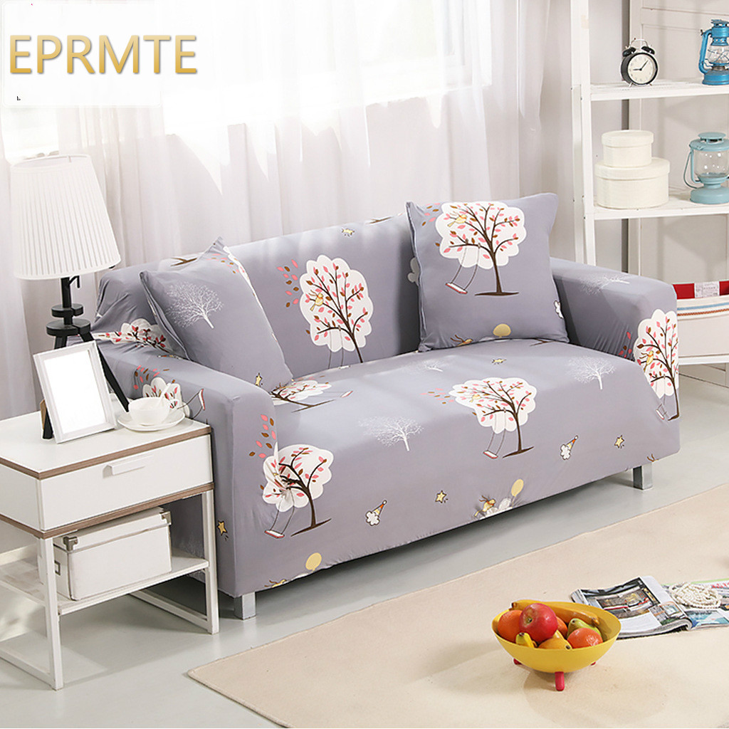 Printed universal Sofa cover flexible Stretch Big Elasticity Couch cover Loveseat sofa F ...