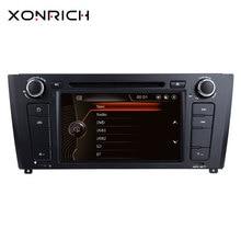 Xonrich AutoRadio 1 Din Car DVD Player For BMW E87 BMW 1 Series E88 E82 E81 I20 GPS Navigation Multimedia Head Unit 3G DAB+ BT