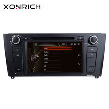 Xonrich Авторадио 1 Din dvd-плеер автомобиля для BMW E87 BMW 1 серии E88 E82 E81 I20 gps навигации мультимедиа головное устройство 3g DAB + BT