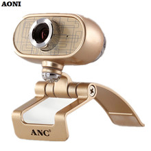 AONI Webcam 1080P High Definition PC TV Cameras With Microphone USB Web Cam Auto Defective pixel Correction For Smart Display