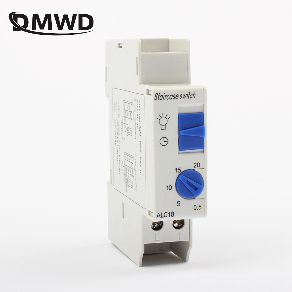time timer switch 30s-20 minutes 230V 220V 250V 30s 20min high top quality light electric device equipment controller ALC18 vac220 taiwan fotek timer h3 trd 30s relay timer 30s