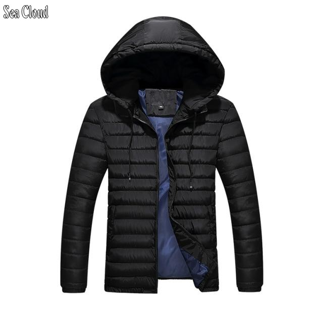 Sea Cloud Free shipping plus size 4xl-9xl big men's down jacket extra large thickening cotton-padded jacket winter coat 150 kg винт гребной blue star sea 9 1 4 10 9 9 15 л с for yamaha