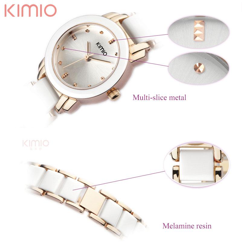 kvinnor kvarts klockor mode dam armband klockor KIMIO märke 2017 - Damklockor - Foto 4