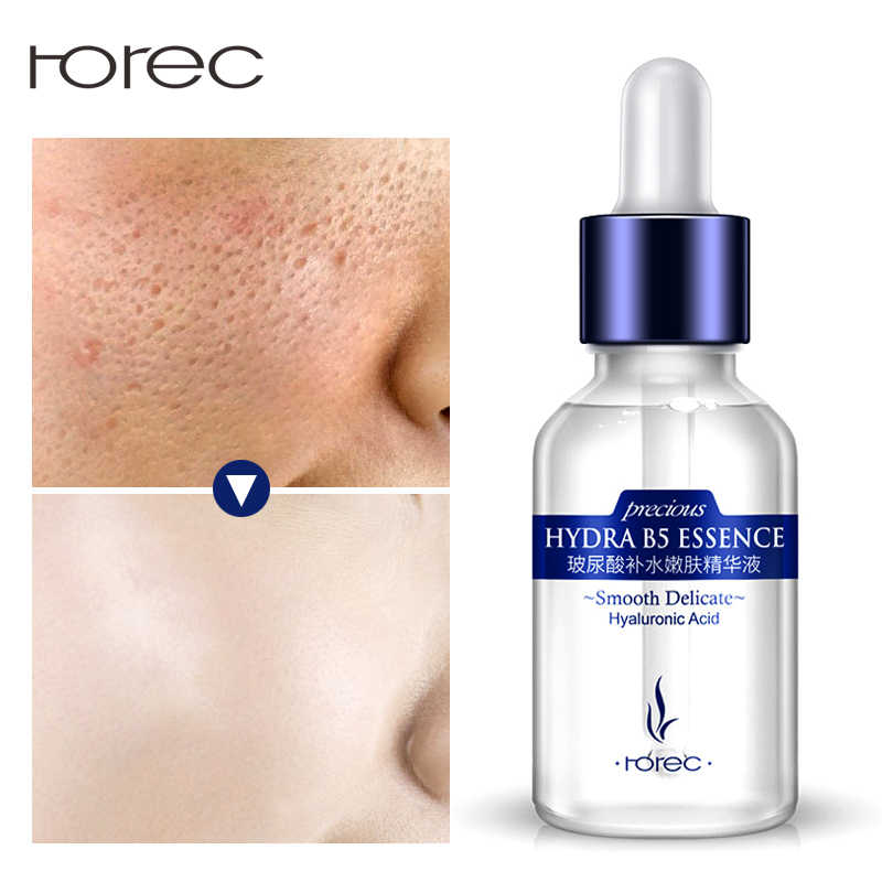 ROREC Hyaluronic Acid Face Serum Facial Anti-Aging Anti-Wrinkle Anti-Acne Liquid Essence Serum Whitening สำหรับ Face