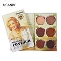 UCANBE Brand 6 Colors Concealer Palette Make Up Base Makeup Corrector Camouflage Contour Palette Highlight Face Concealer Cream