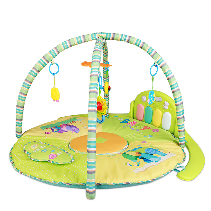 Baby Foot Piano Fitness 0-1 Old Baby Music Game Blanket Early Childhood Educational Toy Rack