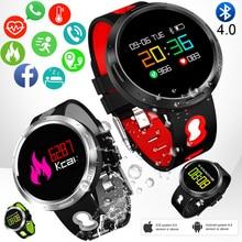 цена LIGE Men Women Smart Watch Blood Pressure Heart Rate Monitor Fitness Pedometer LED Clock Bluetooth Smart Sport Watch Wristband онлайн в 2017 году