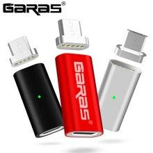 GARAS Магнитный микро USB адаптер для мобильного телефона для Android микро устройств Зарядное устройство и данных магнит адаптер для Samsung/Xiaomi/huawe