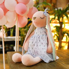Hot Long Ears Cute Baby Rabbit Doll Soft Plush Toys For Children Sleeping Mate Stuffed Animal