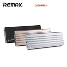Remax 20000 мАч Запасные Аккумуляторы для телефонов Dual USB Выход и Вход для Xiaomi MI5 внешнего резервного Портативный Зарядное устройство
