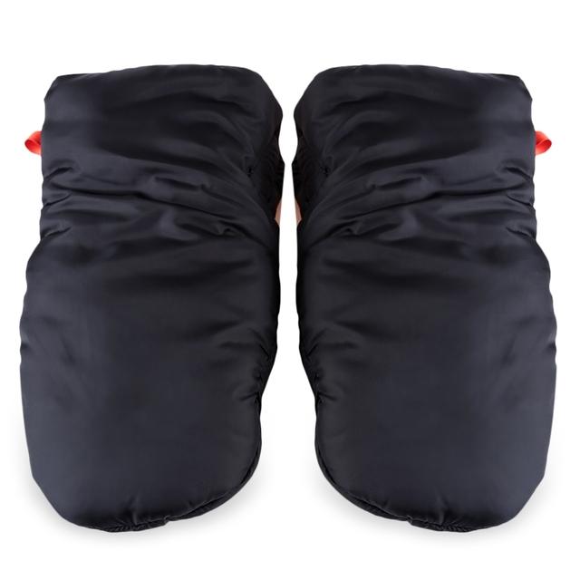 Baby Pram Stroller Gloves Warm Fleece Pushchair Hand Gloves Baby Buggy Clutch Cart Muff Winter Gloves Stroller Accessories