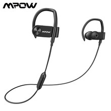 Original MPOW D2 IPX7 Waterproof Bluetooth Earphones Wireless Sport Earphone With Mic 16h Lasting Time &Carrying Case For Phones(China)