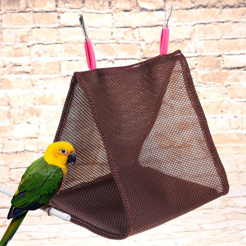 Bird Supplies Small Pet Ferret Rat Hamster Budgie Bird Parrot Nest Warm Hammock Hanging Bed To Have Both The Quality Of Tenacity And Hardness