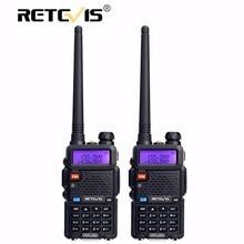 2 adet Retevis RT-5R Walkie Talkie Radyo 128CH VHF UHF Dual Band Ham Radyo Amador Hf Telsiz 2 Yönlü cb Radyo Iletişimci RT5R