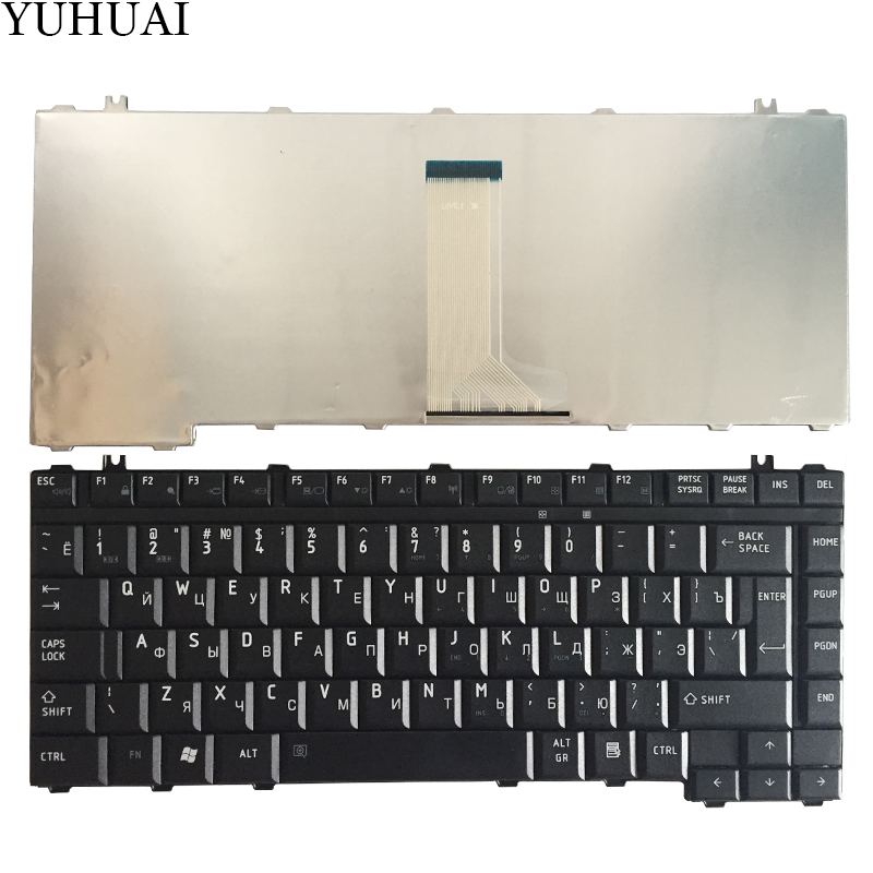 Nuevo teclado ruso para Toshiba Satellite A200 A205 A210 A215 A300 A305 A305D A350 A350D A355 M300 M200 M305 RU teclado negro