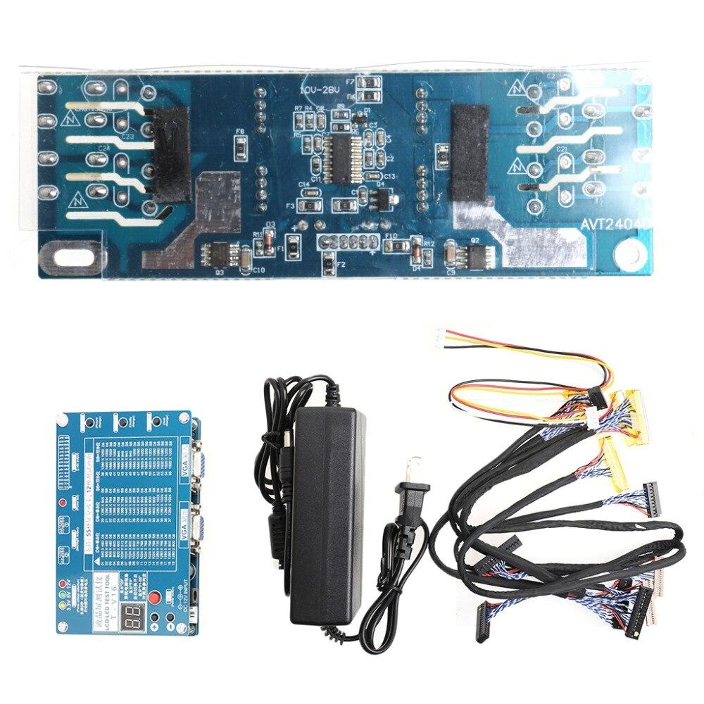 Ordinateur portable TV/LCD/LED Outil de Test Testeur de Panneau de Soutien 7-84 Pouce LVDS 6 Écran Ligne De Mesure instruments