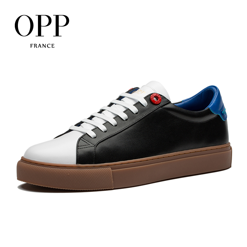 OPP 2018 Cow Leather Flats Fashion Shoes Genuine Leather Loafers For Men Shoes moccasins Mens Casual Footwear Young Flats mycolen mens casual genuine leather flats loafers for men comfortable business wine red black crocodile print man leather shoes