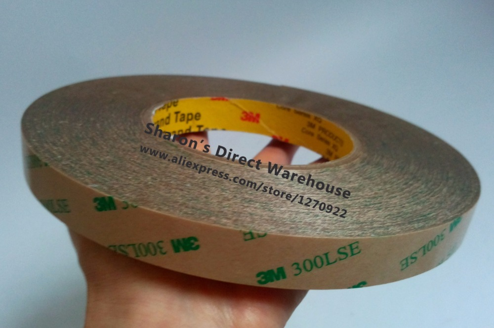 ФОТО 24mm*55M Ultra Strong 3M 300LSE Double Coated Adhesive Tape, Waterproof for Touch Panel, Screen LCD Display