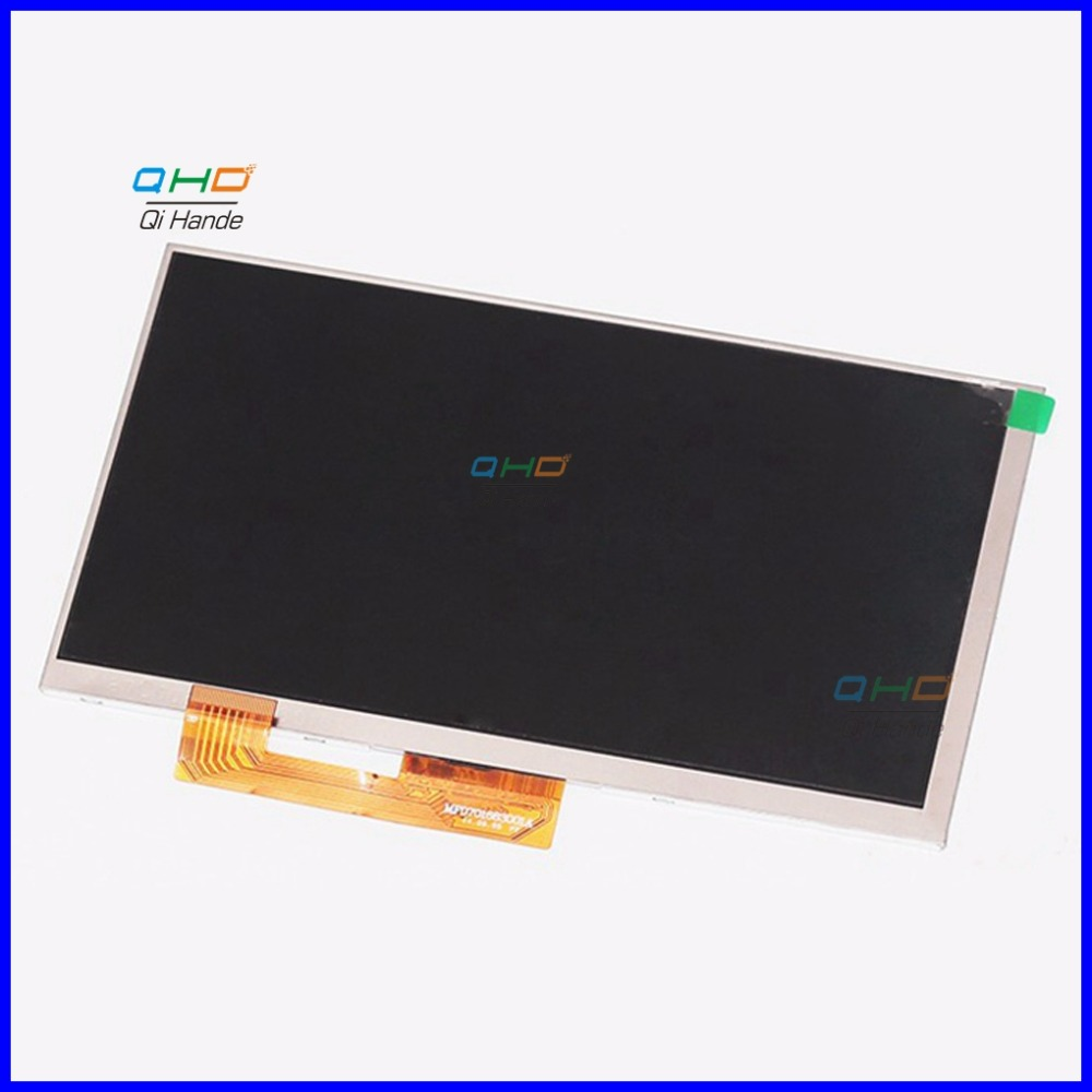 AL0203B 01 AL0252B 01 30Pin MF0701683001A LCD Screen Panel Lens Frame replacement New 7'' inch LCD Display TABLET Free Shipping new 7 inch lcd display matrix tablet al0203b 01 fy07021dh26a29 1 fpc1 a lcd screen panel lens frame replacement free shipping