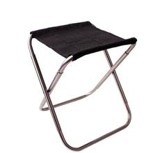 Portable Aluminum Alloy Folding Chair Seat Stool Outdoor Fishing Travel Picnic Camping Hiking BBQ Beach Backpack Fishing Chairs все цены