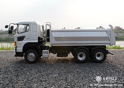LESU 1/14 Hino 6*6 Metal Hydraulic Dumper RC Truck Model Motor ESC Servo TAMIYA цена 2017