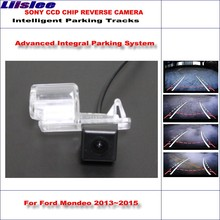 Liislee HD CCD SONY Rear Camera For Ford Mondeo 2013~2015 Intelligent Parking Tracks Reverse Backup / NTSC RCA AUX 580 TV Lines все цены