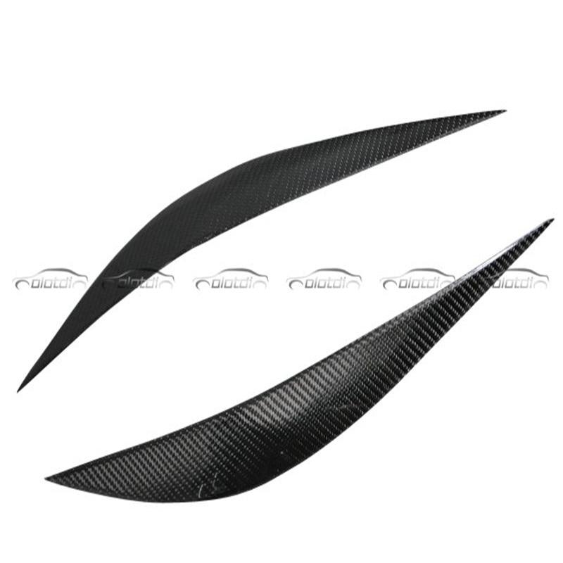 OLOTDI Réel En Fiber De Carbone Voiture Paupière Pour BMW F30 2013-2017 Avant Phare Sourcils car styling accessoires de voiture usine ventes