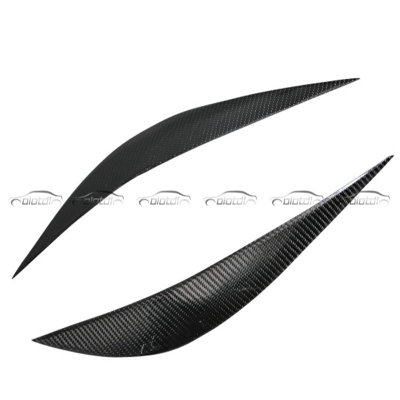 OLOTDI Real Carbon Fiber Car Eyelid For BMW F30 2013-2017 Front Headlamp Eyebrows car styling car accessories factory sales isincer car headlight lens for bmw f30 headlamp cover case shell lamp assembly f30 f31 2013 2016 car styling accessary