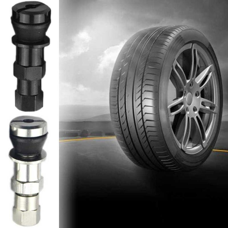 2Pcs Universal Metal Car Motorcycle Tubeless Wheel Tyre Valve Stem Caps Aluminum Alloy Tire Air Valve Stems Car Accessories