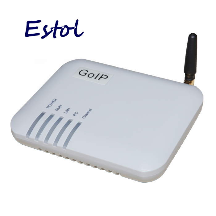 Prix pour DBL simple canaux GOIP1, GSM VoIP Passerelle (IMEI Changement, 1 Carte SIM, SIP et H.323, VPN PPTP). SMS, GSM Passerelle