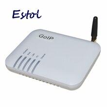 O único goip1 dos canais de dbl, gateway do voip de gsm (mudança de imei, cartão de 1 sim, sip & h.323, vpn pptp). sms, gateway de gsm