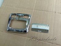 Free Shipping Chromed INNER Front Reading Light Box Trim For Subaru Outback 2015+