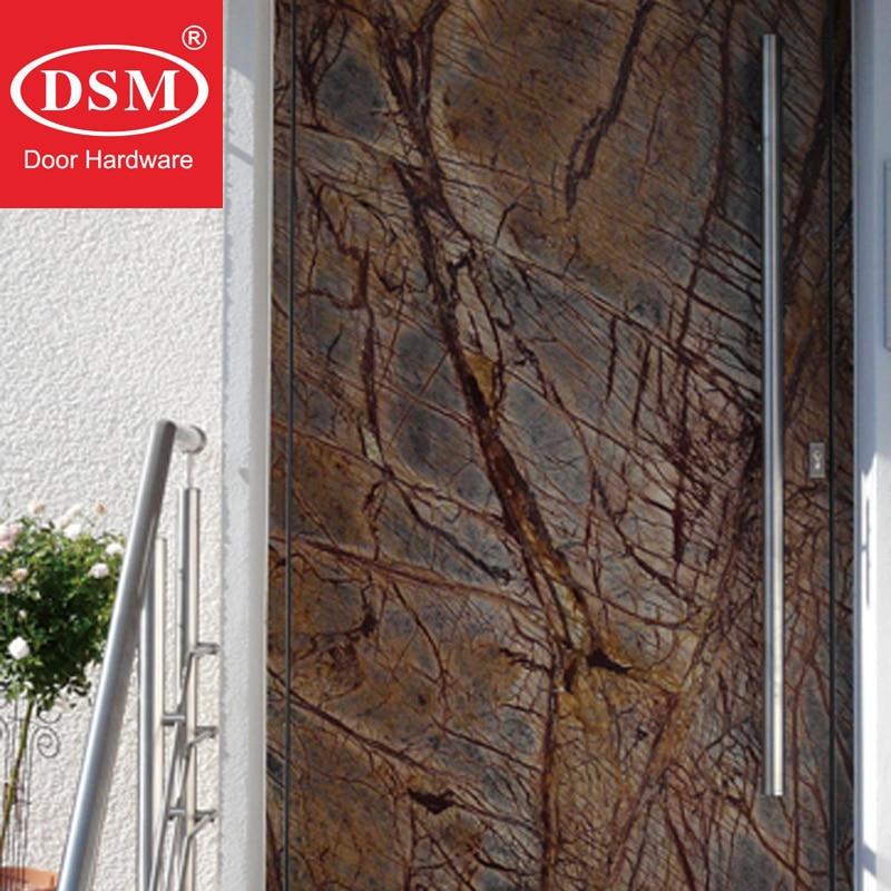 Купить с кэшбэком Modern Push Pull Brushed Stainless Steel Door Handle For Entrance/Entry/Shower/Glass/Shop/Store Gates PA-103-38-600mm-800mm-H