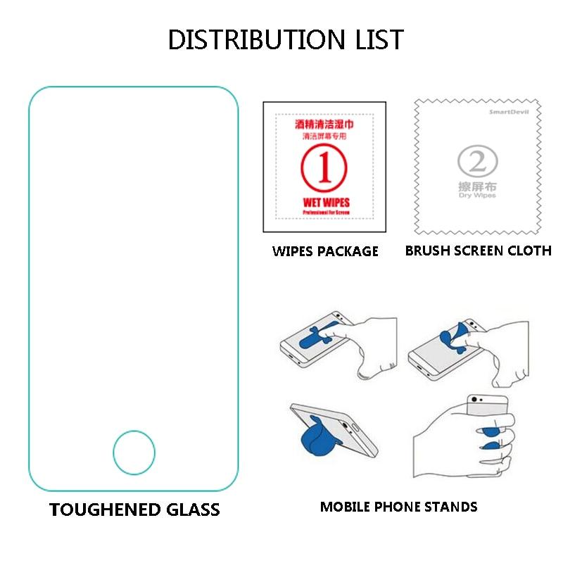5 buc / lot pentru telefonul Yota 2 Protecție de ecran de sticlă - Accesorii și piese pentru telefoane mobile - Fotografie 5