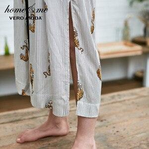 Image 4 - Vero Moda damski nadruk zwierzęta luźny krój szlafrok