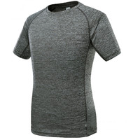 Summer Outdoor Gyms Compression T Shirt Workout Crossfit T Shirt Fitness Slim Tights Casual Shirts Quick