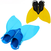 35 38 Adjustable Swimming Fins for Kid Children Mermaid Swim Fin Women Foot Flipper Training Shoes Diving Feet Tail Monofin