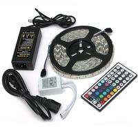 Waterproof 5M RGB LED Strip Light 12V DC 5050 SMD With Remote Control AU/US/UK/EU Plug