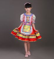 Russian Girls Classical traditional dance costume dress Cut Kawaii princess stage dresses Stage performance clothing For Kids 09