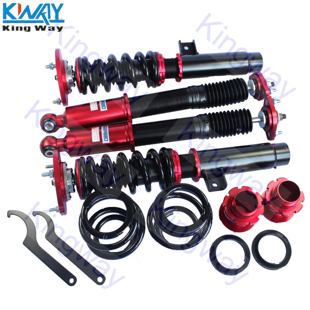 FREE SHIPPING King Way Red / Yellow Suspensions Coilovers